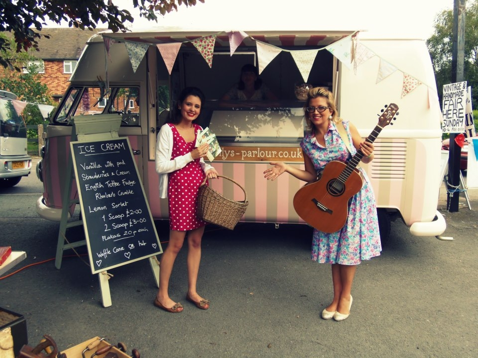 Polly's Vintage Ice Cream Van